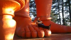 Hanuman Statue, Solan, Himachal Pradesh