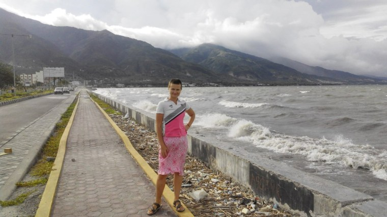 Palu city